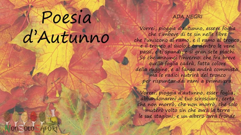 poesia di autunno per collaborazione