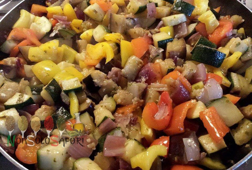 spadellata estiva di verdure
