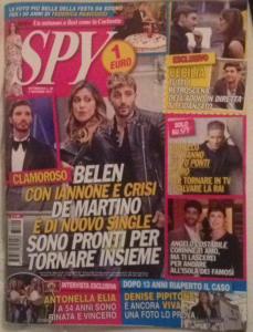 Spy con protagonisti Stefano e Belen