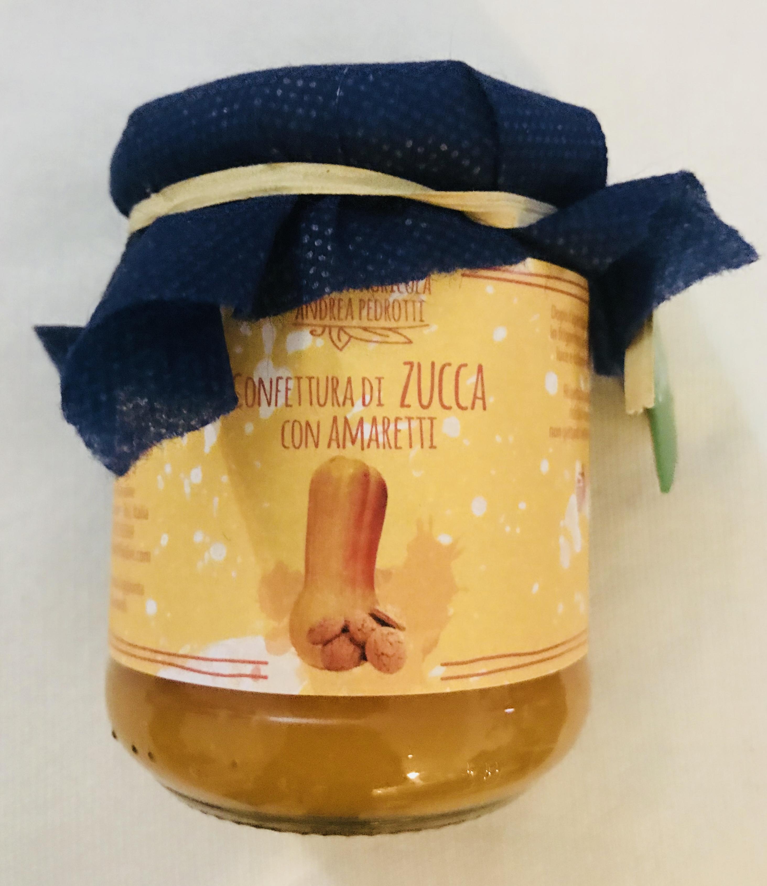 confettura zucca amaretti