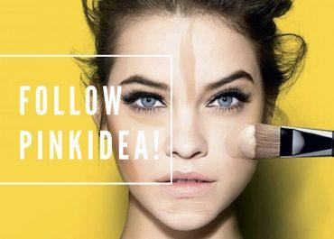 follow pinkidea make-up