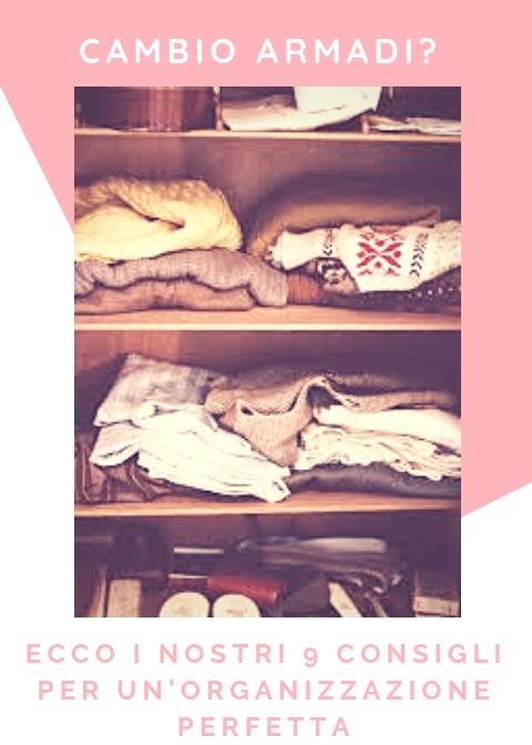 Cambio dell'armadio